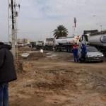 grève des transporteurs de carburant