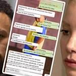 conversation whatsapp neymar et la plaignante