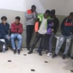 arrestation de migrants subsahariens et vendeurs d'alcool