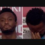 Mikel Obi retient ses larmes lors d'une interview après avoir été «abusé racialement par des fans de Fenerbahce» sur les réseaux sociaux (Vidéo)