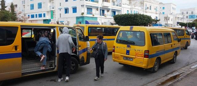 Tunisie Majoration de 50% des tarifs des taxis collectifs et louages