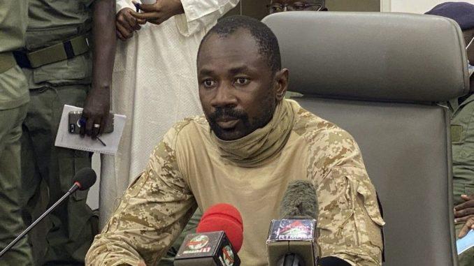 Colonel Assimi Goita, le nouvel homme fort du Mali remercie le roi Mohammed VI