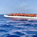 Sauvetage de 106 migrants aux larges des côtes Libyenne par l'Océan Viking