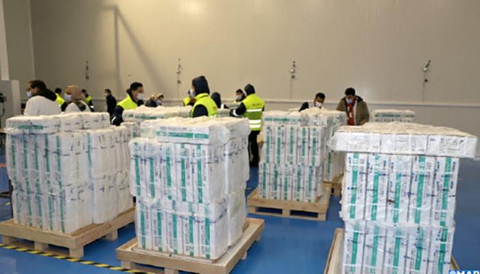 Le Maroc a reçu 500.000 nouvelles doses du vaccin chinois