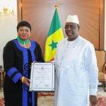 Sénégal: La procureure Fatou Bensouda élevée à la dignité de commandeur dans l'ordre national du lion (photos)