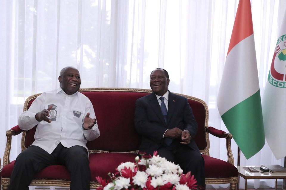 Côte d'Ivoire: Revivez en image la rencontre de l'ex-président Laurent Gbagbo et le président Alassane Ouattara