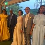 RDC: Nady Bamba aux petits soins de Laurent Gbagbo au mariage du fils de Jean-Pierre Bemba (photos)