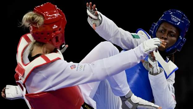 JO Tokyo 2020: la Taekwondo-in ivoirienne Ruth Gbagbi, remporte la médaille de bronze