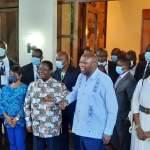 Côte d'Ivoire - Rencontre Laurent Gbagbo et Bédié: Gbagbo accueilli avec Nady Bamba à Daoukro