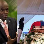 Le président assassiné d'Haïti, Jovenel Moïse, est inhumé alors que les tensions éclatent dans le pays (photos)