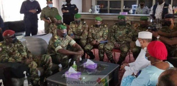 Guinée : la délégation de l'ONU reçue par le colonel Mamady Doumbouya