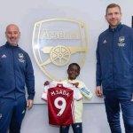 Arsenal signe le nigérian de 9 ans Munir Muhammad Sada (photos)
