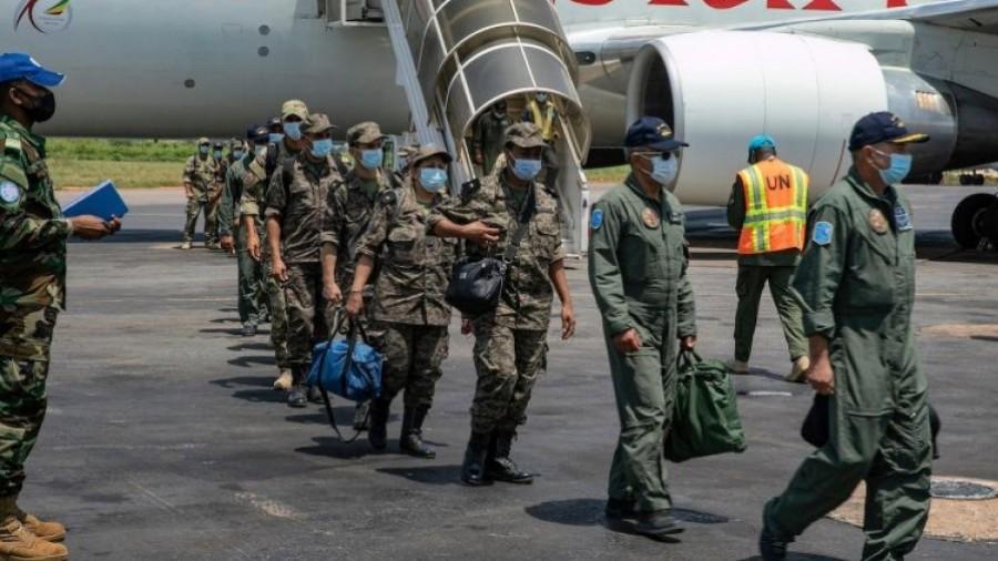 Centrafrique: Arrivée de la mission militaire tunisienne à Bangui