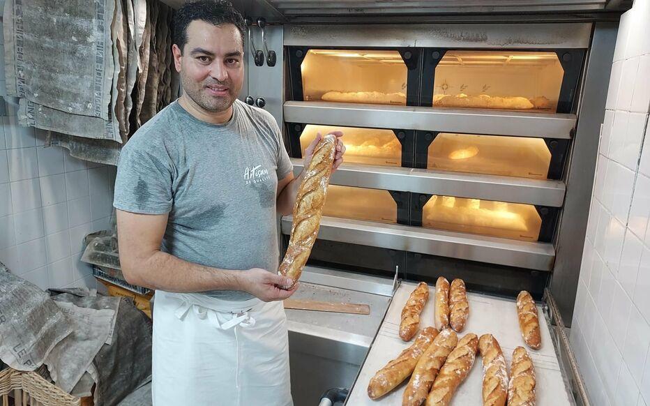 Le tunisien Makram Akrout, lauréat de la meilleure baguette de Paris ne fournira pas l'Elysée