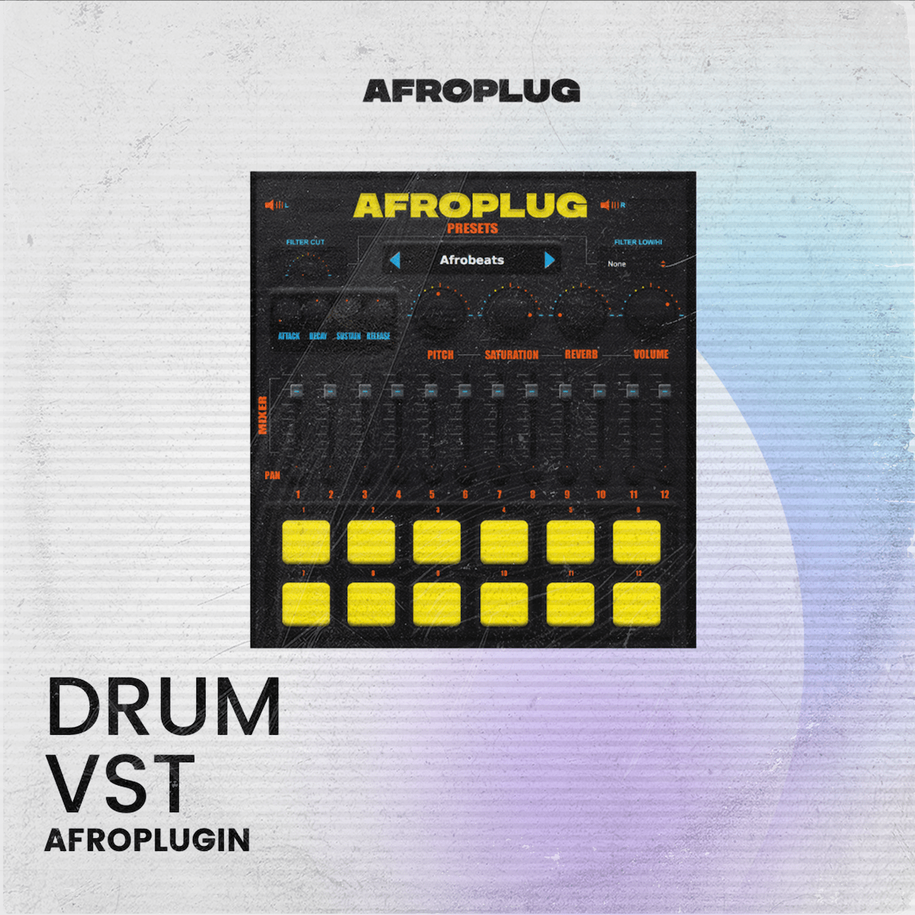 (Free Demo Available) Afroplugin - Drum AU / VST for African beats