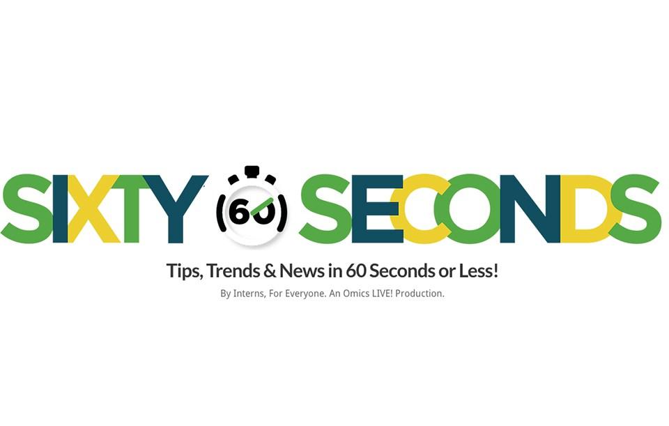 Press: Sixty Seconds Magazine