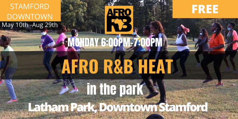 Afro R&B Dance Class Downtown Stamford CT