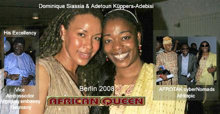 African Queen AFROTAK Waaka About Afro Deutsch cyberNomads