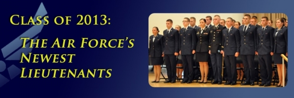 ROTC picture of Air Force Class of 2013