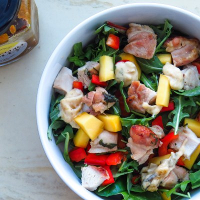 Tropical Mango Chili Chicken Salad
