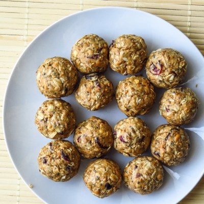 Loaded No bake Peanut butter power bites