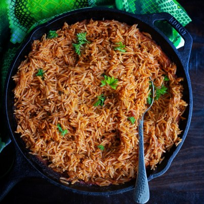 Oven Baked Cameroonian Jollof