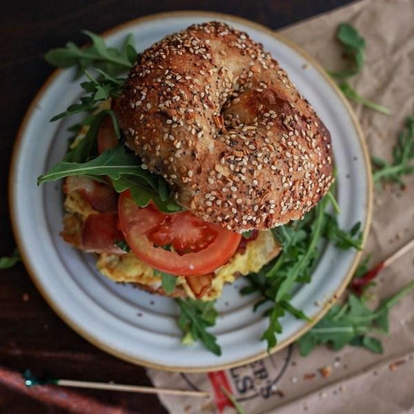 Bagel Breakfast Sanwich