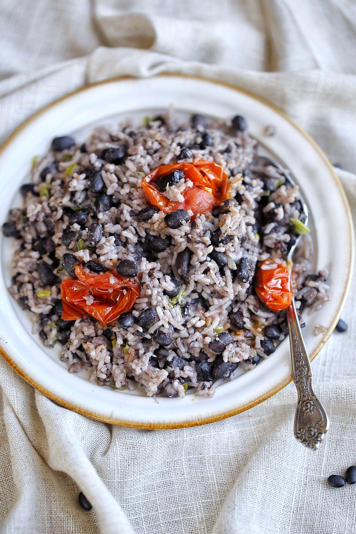 Rice And Black Beans Skillet Afrovitalityeats