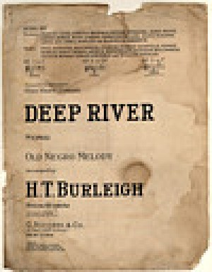 """Deep River"" cover digitally reproduced by the Duke University Rare Book, Manuscript, and Special Collections Library"