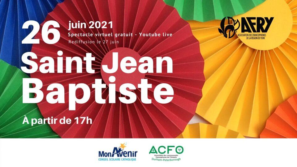 La Saint-Jean-Baptiste 2021
