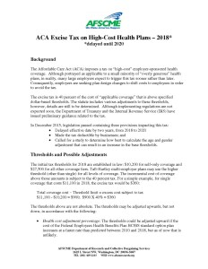 thumbnail of Excise Tax – Fact Sheet