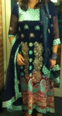 Pakistani, Indian outfit