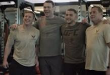 Special Warfare UFC Memorial Workout