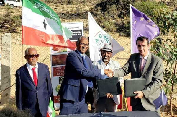 SOMALILAND IYO MIDAWGA YURUB OO HESHIIS LAGU ILAALINAYO AATAARTA LAASGEEL KALA SAXEEXDAY 2020