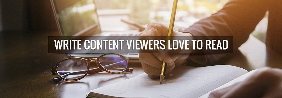 How to write content that your visitors will love to read?