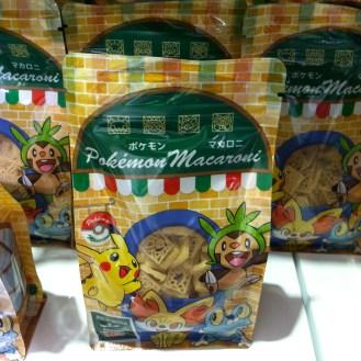 Pokemon pasta.