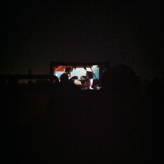 dirty dancing under the stars.
