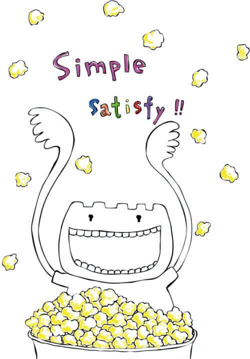 作品集_simple-satisfy