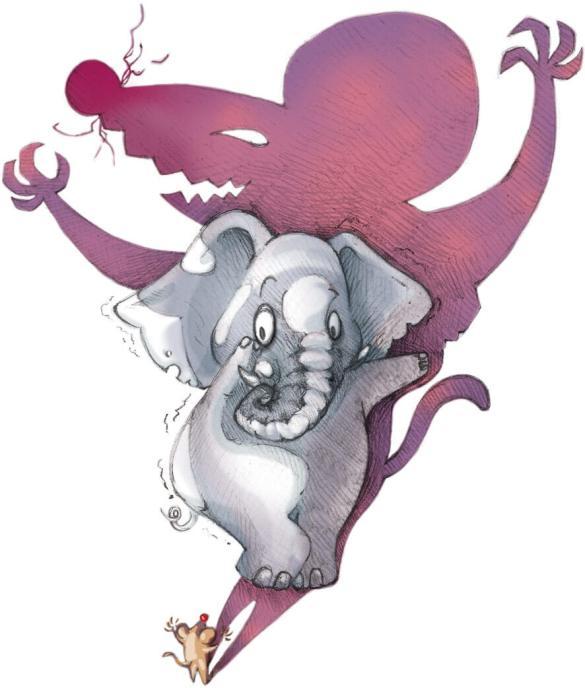 作品集_ coward elephant