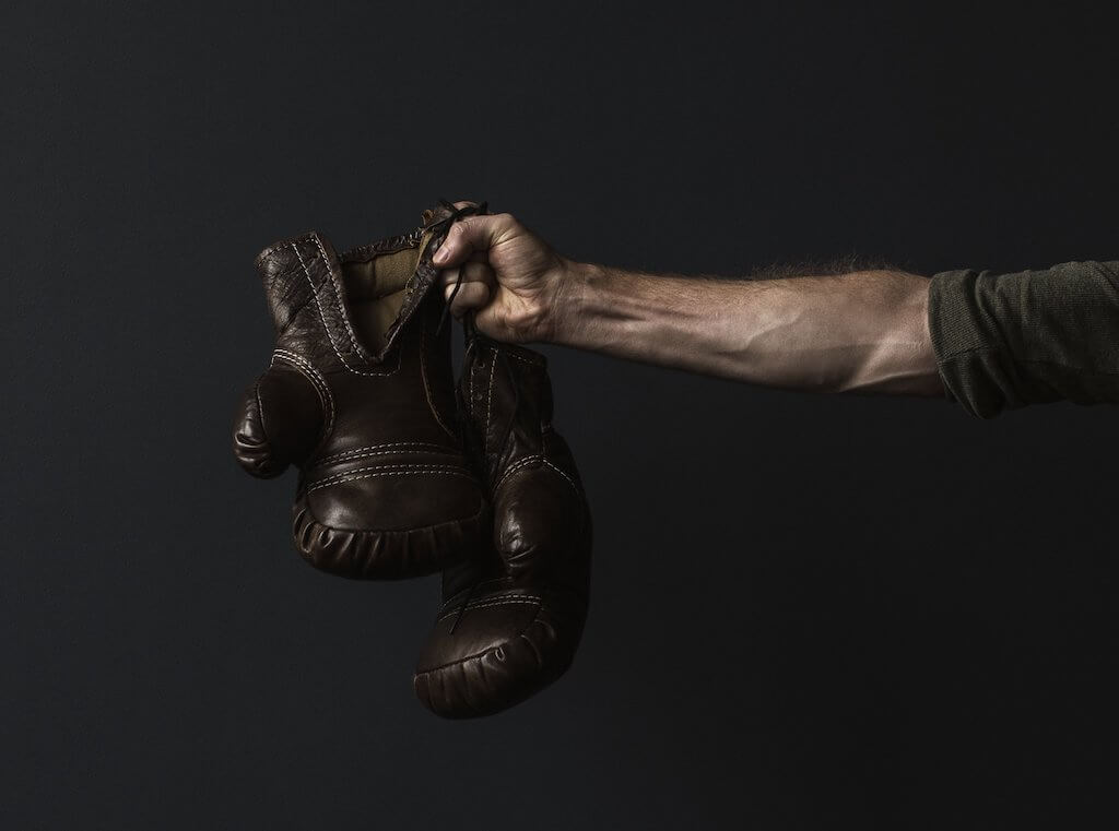 中年要的不是斜槓人生,Fighting,人生必須用盡氣力