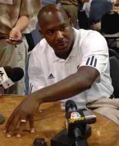 Notre Dame associate head coach Corwin Brown addresses the media. (AP photo0