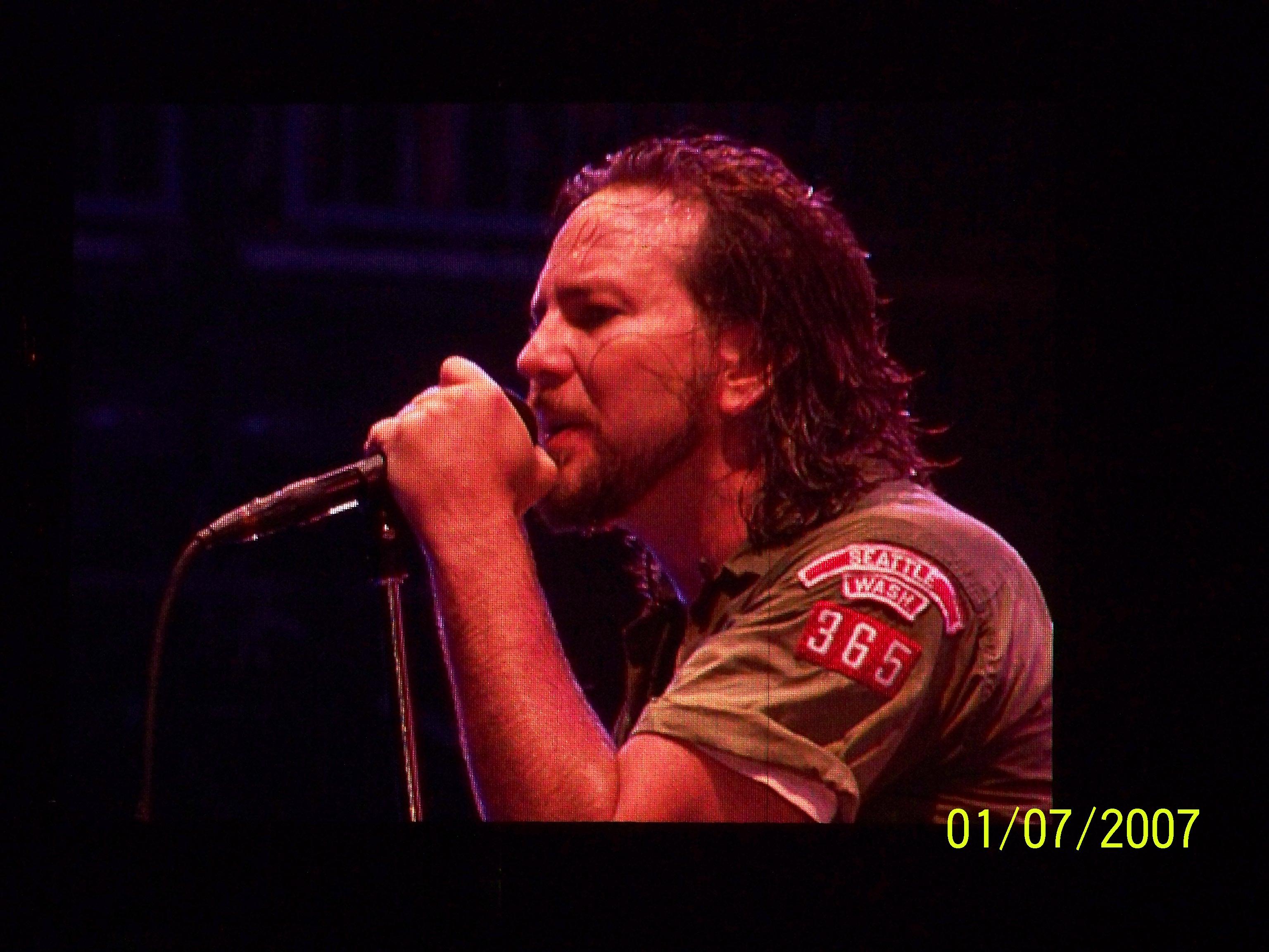 Pearl Jam, Eddie Vedder, Kanye West