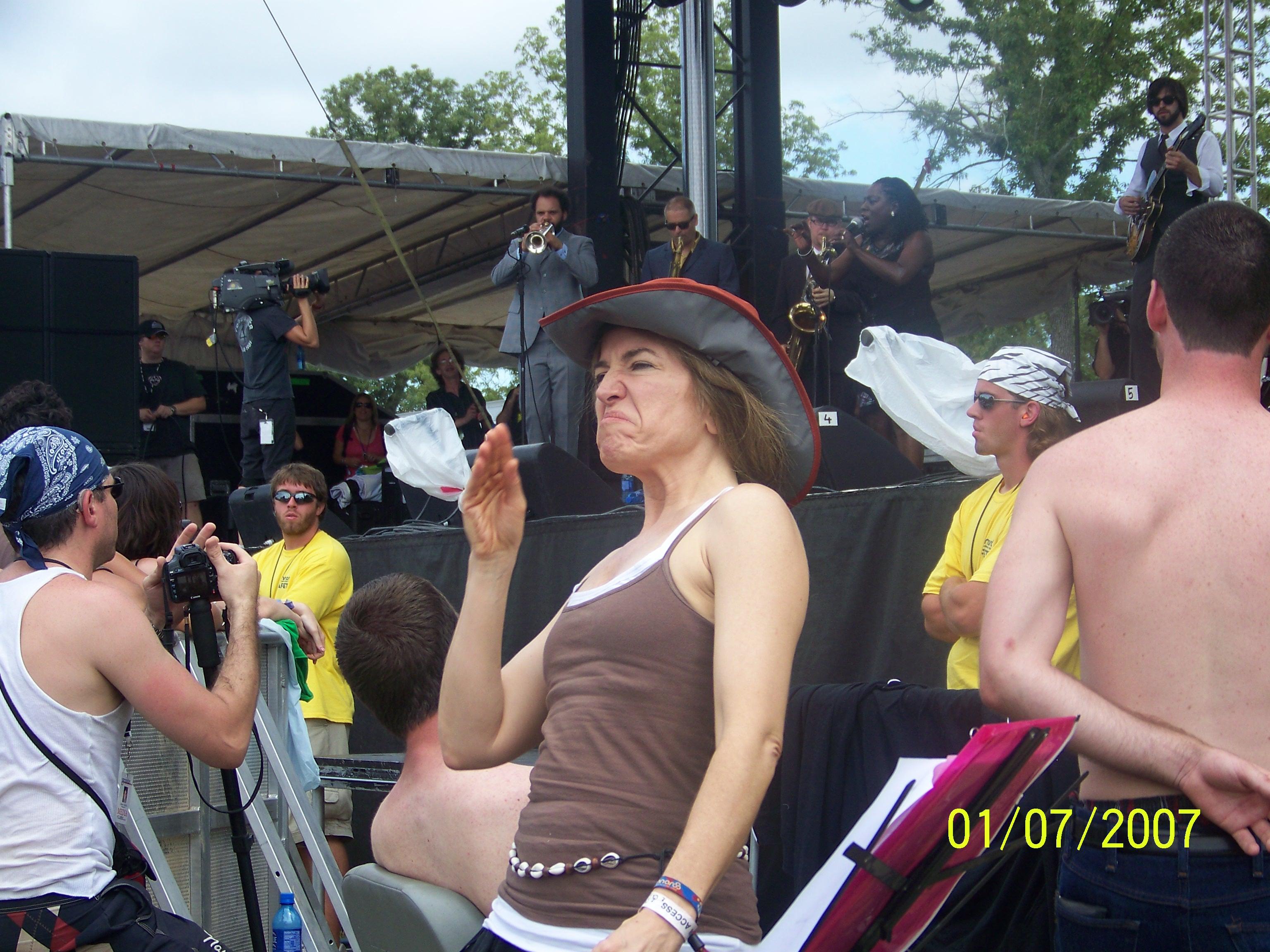 ASL, Sharon Jones, Bonnaroo, music