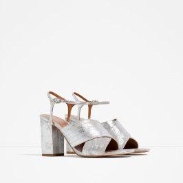 Sandals £39.99 at Zara