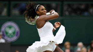 The mighty Serena Williams in Nike
