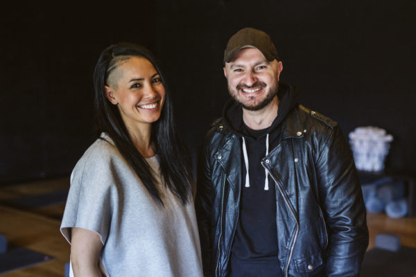 Partners in Life and Yoga: Humming Puppy Co-Founders Jackie Alexander and Chris Koch