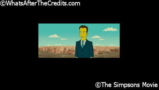 Simpsons Movie The 2007 Whats After The Credits The Definitive After Credits Film Catalog Service