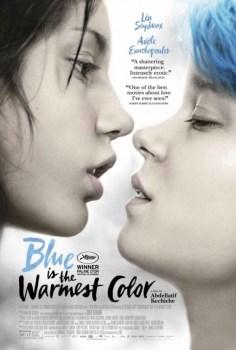 BlueIsTheWarmestColorPoster