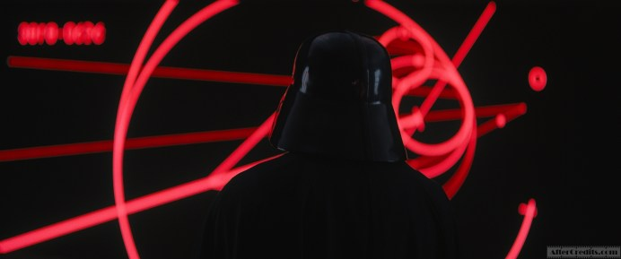 Rogue One: A Star Wars Story Darth Vader (voiced by James Earl Jones) Ph: Film Frame ILM/Lucasfilm ©2016 Lucasfilm Ltd. All Rights Reserved.