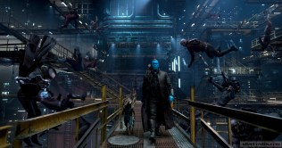 Guardians Of The Galaxy Vol. 2 L to R: Rocket (Voiced by Bradley Cooper), Groot (Voiced by Vin Diesel), and Yondu (Michael Rooker) Ph: Film Frame ©Marvel Studios 2017